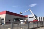 Feuerwehreinsatz bei WeserGold