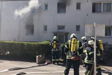 Rinteln: Feuer im Saarweg