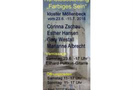 """""""Farbiges Sein"""": Neue Kunstausstellung im Kloster Möllenbeck"""