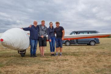 Piloten aus Rinteln bei Lilienthal Glide 2018 in Lüsse