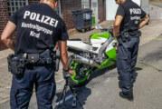 Wennenkamp: Polizei kontrolliert rund 69 Motorräder