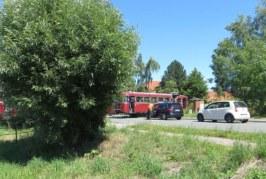 Vollbremsung in letzter Sekunde: Schienenbus entgeht Zusammenstoß mit Auto nur knapp