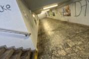 Unterführung am Rintelner Bahnhof: Abhilfe erst in einigen Jahren in Sicht