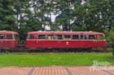 Mit dem Schienenbus im gemütlichen Tempo von Rinteln nach Stadthagen fahren