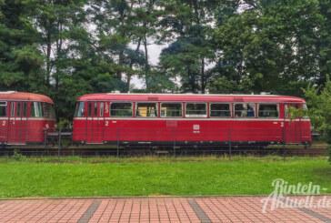Schienenbus-Sonderfahrt Industriekultur im Schaumburger Land