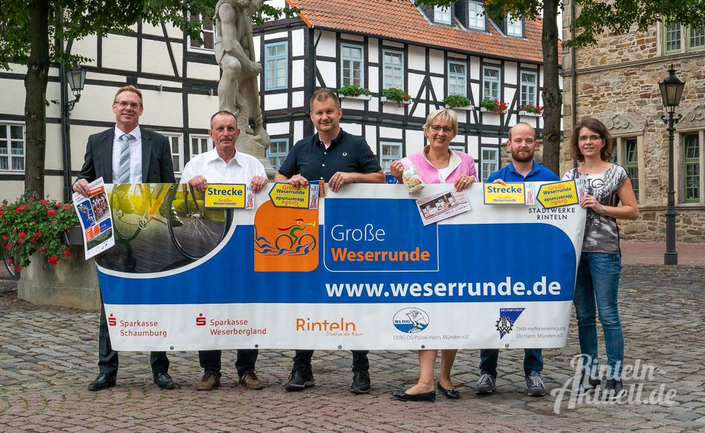9. Große Weserrunde: Bis zu 300 Kilometer auf dem Fahrrad durchs ...