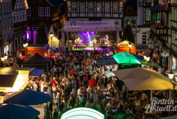 Sommerabende mit Musik: 41. Rintelner Altstadtfest startet bei prima Wetter