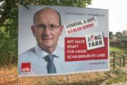 Jörg Farr zum Landrat wiedergewählt