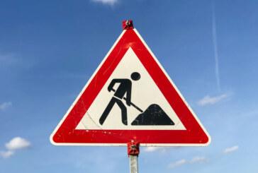 Straßensperrungen wegen Asphaltarbeiten