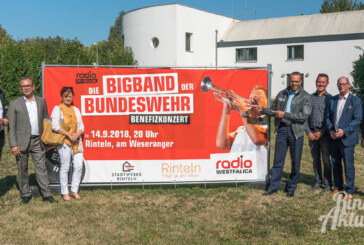 Showtime in Rinteln: Big Band der Bundeswehr spielt Konzert für den guten Zweck