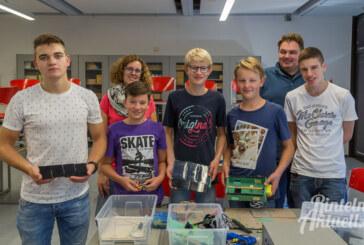 Rintelner Schüler starten mit Solarstrom ins Bundesfinale