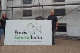 """Ganzheitliches Tiertherapiezentrum """"Praxis Extertalbahn"""" eröffnet in Rinteln"""