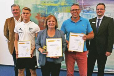 Stern des Sports in Bronze für Arbeitsgemeinschaft Rintelner Sportvereine