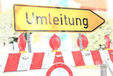 Extertalstraße zwischen Krankenhagen und Bögerhof voll gesperrt