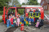 Comenius-Kindergarten zu Besuch bei der Feuerwehr Schaumburg