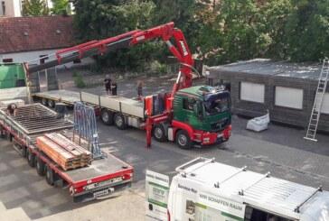 Container auf Kollegienplatz: Hildburgschule bekommt weitere Klassenräume