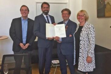 Naturschützer Egbert Schulz mit Bundesverdienstkreuz ausgezeichnet