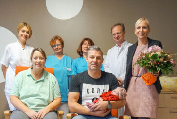 555. Baby im Klinikum Schaumburg geboren