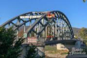 Weserbrücken-Beleuchtung wird repariert