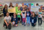 dm-Kunden zeigten viele Herzen: Vereine freuen sich über insgesamt 1.000 Euro Spenden