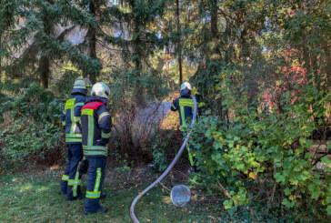 Kompost in Flammen: Einsatz für Feuerwehren Rinteln und Todenmann