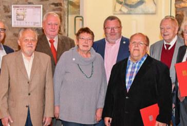 Langjährige Mitglieder bei Herbstfest der Rintelner SPD geehrt