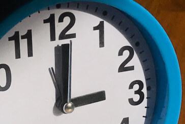 Nicht vergessen: Morgen wird wieder die Uhrzeit umgestellt