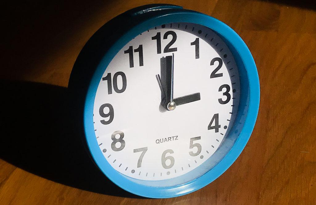 Umstellung Uhrzeit