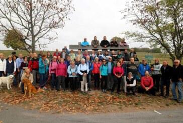 Wanderung zur XXL-Bank in Wennenkamp und zurück