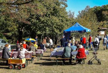 Sonniges Herbstwetter und alte Kulturformen bei 7. Apfelfest von NABU und Lions Club