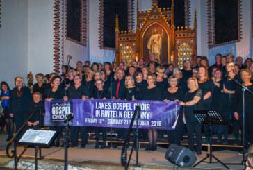 Noch größer, noch schöner: Drittes Konzert der Rintelner Gospeltage füllt St. Agnes-Kirche