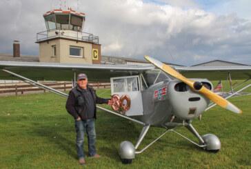 Aeronca 65 C: Fliegender Oldtimer feiert 80. Geburtstag