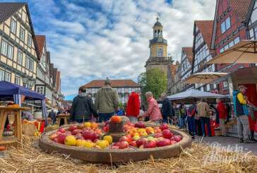 Rintelner Apfelmarkt: Ein Tag rund ums Thema Apfel