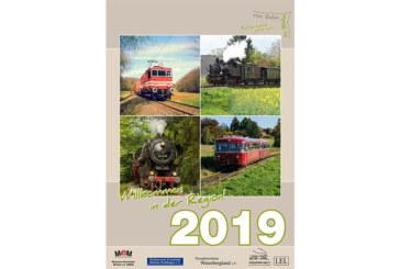 Vier Bahnvereine präsentieren Kalender für 2019