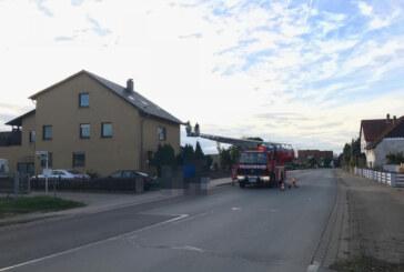 Engern: Qualm löst Feuerwehreinsatz aus