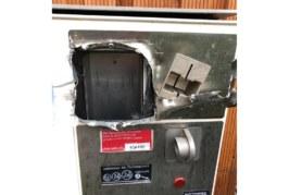 Zigarettenautomat aufgebrochen und geplündert
