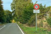 Ehemalige Kreisstraße 80 zwischen Möllenbeck und Krankenhagen wird gesperrt