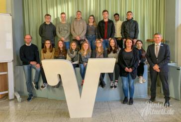 Erfolgreich bewerben: Volksbank macht Schüler fit für den Beruf