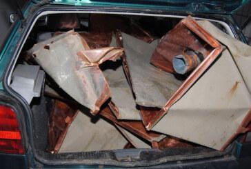Fahrer flüchtet: Polizei entdeckt Kupferdieb in Steinbergen