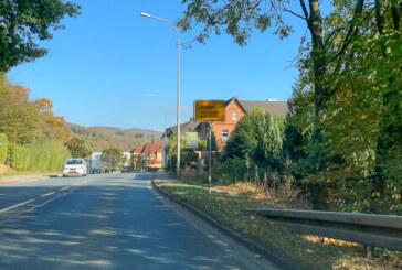 Maschinenschaden: Gehölzpflege an der B238 verschiebt sich