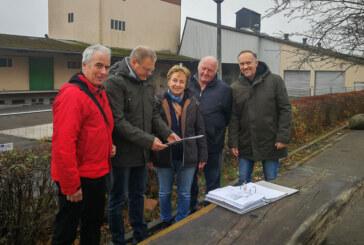 """Dirk Adomat zu Besuch in Krankenhagen: """"Attraktiver Dorfmittelpunkt entsteht"""""""