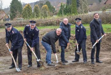 Hohenrode: Spatenstich fürs neue Feuerwehrhaus