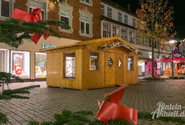 Das Mehrgenerationenhäuschen auf dem Rintelner Weihnachtsmarkt: Zahlreiche Angebote für Jung & Alt