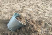 Statt Salz: Städtischen Spielplatzsand streuen