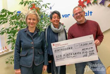 Spende statt Kundengeschenke: 1.000 Euro für den Kinderschutzbund Rinteln
