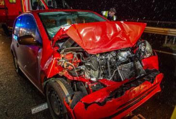 Veltheim: Zwei Autos auf der A2 zusammengestoßen