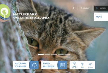 Naturpark Weserbergland informiert online über Angebote und Veranstaltungen