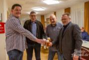 Tischtennisclub Volksen ehrt langjährige Mitglieder