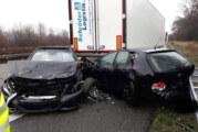 Mehrere Verletzte bei schwerem Unfall auf der A2