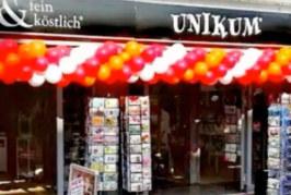 Fein&köstlich Genusswelt als Shop-in-Shop bei Unikum Rinteln